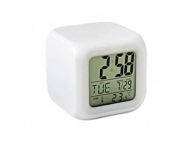 Часы-ночник MHZ Хамелеон Белый (001677)- объявление о продаже  в Киеве