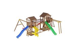 Деревьев'деревянные детские игровые площадки и комплексы
