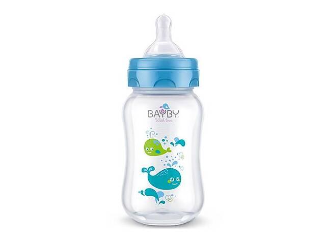Бутылочка для кормления Bayby BFB6102 250ml 0м+ синий- объявление о продаже  в Киеве