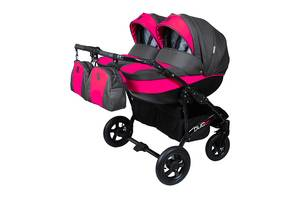 """Детская коляска универсальная для двойни 2в1 """"Duo-Smart"""""""