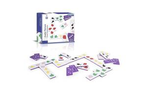 Детская настольная игра тактильное домино Guidecraft Manipulatives Продукты