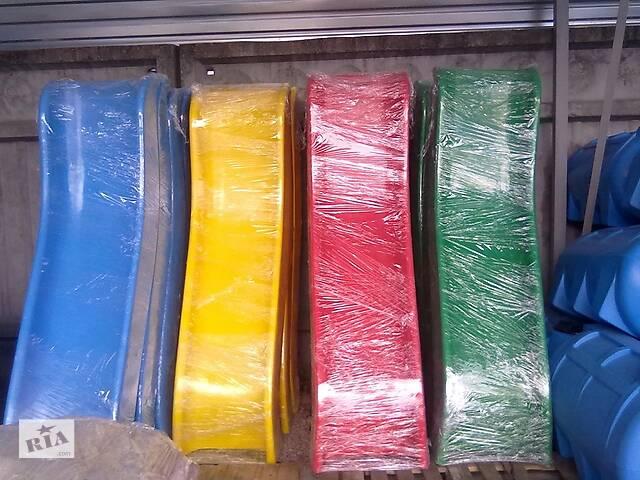 купить бу Детская пластиковая горка односкатная 680 мм в Киеве