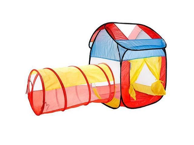 """бу Детская складная игрушка-палатка """"Домик с тоннелем"""" Maya Toys, 68 х 65 х 89 см в Киеве"""