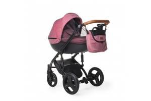 Детская универсальная коляска 3 в 1 Verdi Mirage Limited для детей до 3 лет, красный