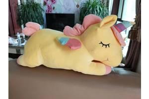 Детская игрушка-плед единорог