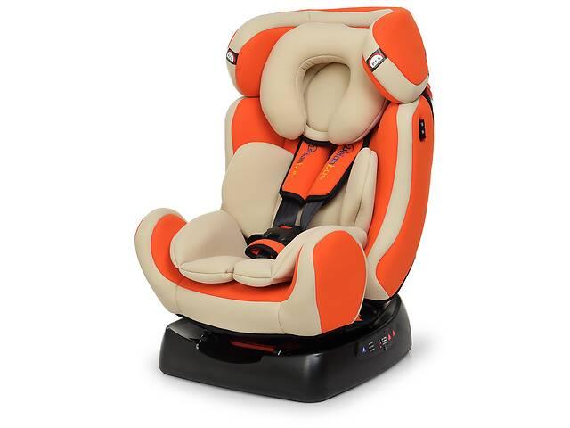 Детское автокресло Bambi группа 0+1-20  (0-6лет) BAB008-7, оранжевый  ***- объявление о продаже   в Украине