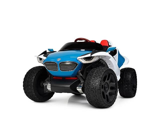 Детский двухместный электромобиль 4WD M 4064EBLR-4 синий- объявление о продаже  в Одессе