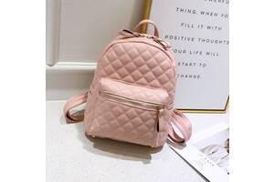 Детский модный рюкзак Розовый
