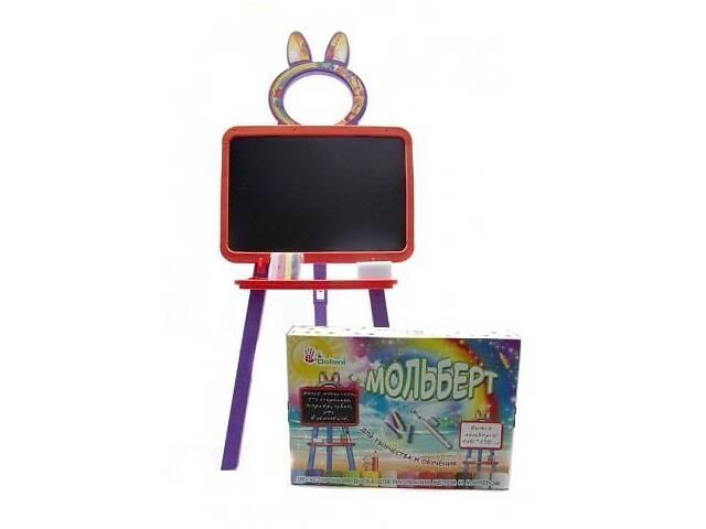 Детский мольбертмагнитный 2в1 для рисования 130 см Doloni Toys, красный- объявление о продаже  в Киеве