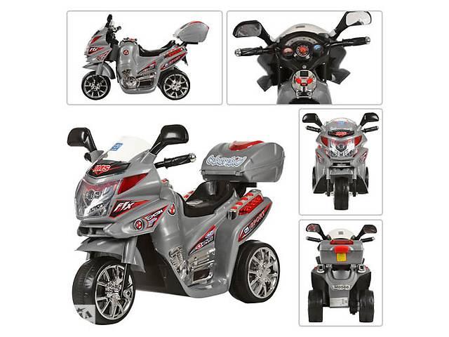 Детский мотоцикл на аккумуляторе M 0567 серебро- объявление о продаже  в Одессе