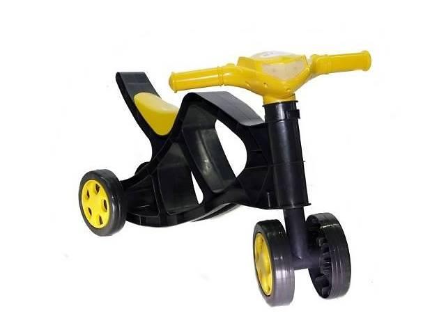 продам Детский минибайкбеговел без звука Doloni Toys черный, транспорт для детей от 1 года бу в Киеве