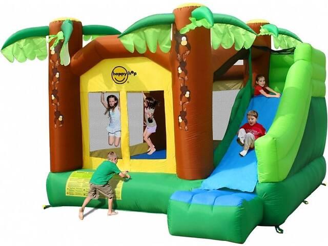продам Детский надувной игровой центр Happy Hop надувной батут Маугли с насосом (bat_9164) бу в Києві