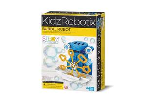 Детский научный набор 4M собрать удивительного робота-мыльные пузыри