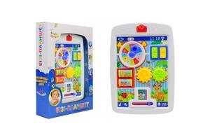 Детский развивающий Бизи-планшет музыкальный Країна іграшок (KI-7049)