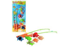 """Детский развивающий игровой набор магнитный """"Рыбалка"""" Metr+, 6 шт"""