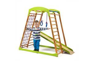 Дитячий спортивний комплекс для будинку SportBaby BabyWood
