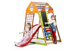 Дитячий спортивний комплекс для будинку SportBaby KindWood Plus 3