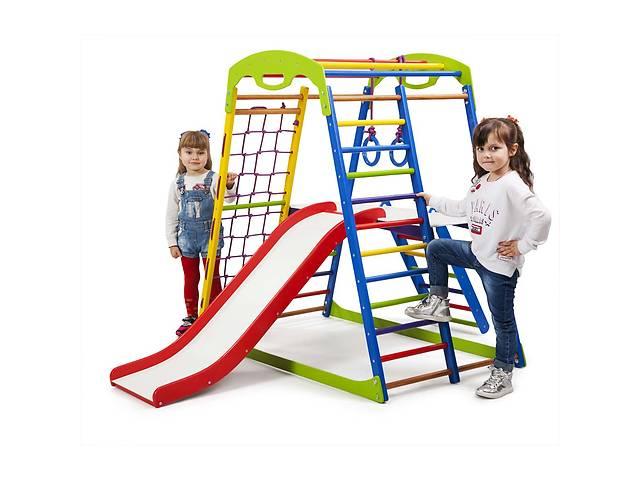 купить бу Детский спортивный комплекс для дома SportBaby SportWood  Plus 2 в Одессе