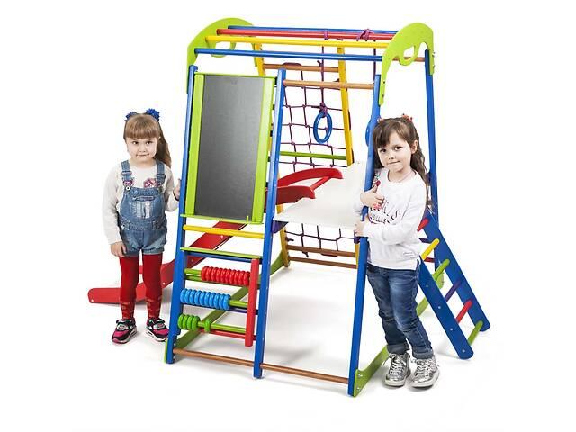 Детский спортивный комплекс для дома SportBaby SportWood  Plus 3- объявление о продаже  в Одесі
