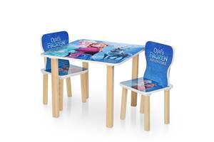 Детский стол с двумя стульчиками Bambi 506-69 Frozen