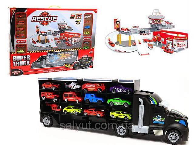 бу Детский игровой гараж-паркинг Synergy Trading Rescue fire P877-A в Дубно