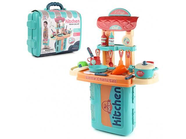 купить бу Детский игровой набор Кухня Шеф-повара с продуктами Xiong Cheng. Интересный подарок для девочки от 3 лет в Киеве