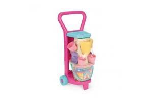 Детский игровой набор посудки с тележкой Пикник, Wader