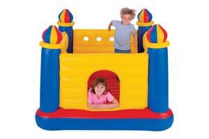 """Детский игровой надувной батут-центр """"Замок"""" 48259 (175*175*135 см)"""