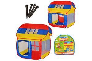 Детский игровой тканевый домик-палатка  Metr+ Домик, 114х92х110 см.