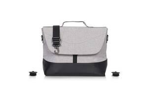 Для детской коляски сумка Euro-Cart Crox Pearl 37x29x15 см., серая