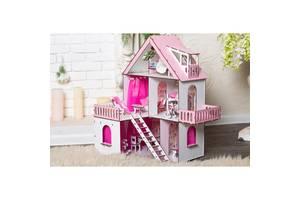 Домик для кукол Лол Солнечная Дача, 3 этажа