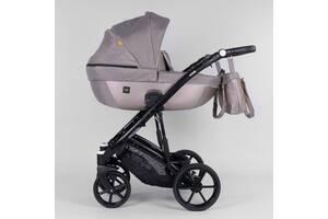 Детская коляска 2 в 1 Expander VIVA, водоотталкивающая ткань + эко-кожа
