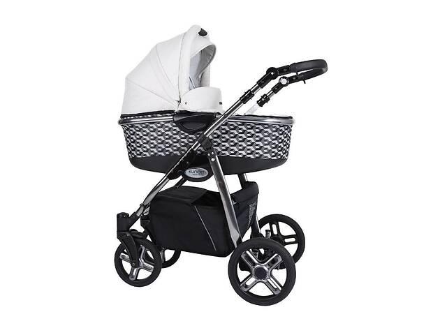 Дитяча коляска 2 в 1 Kunert Professional Libero Premium Class абстракція чорна