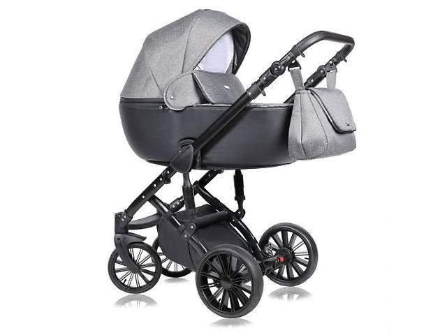Детская коляска 2 в 1 Quali Prado серая 04
