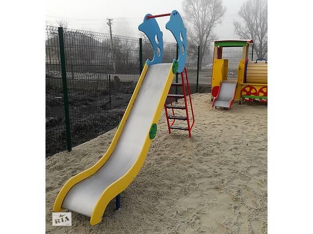 Детская площадка, горка