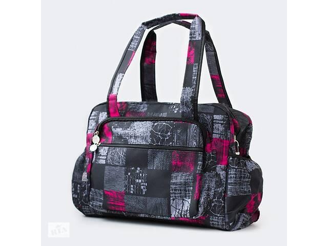 Эргономичная сумка - органайзер на коляску Baby Breeze 0348 дизайн графит- объявление о продаже  в Дубно