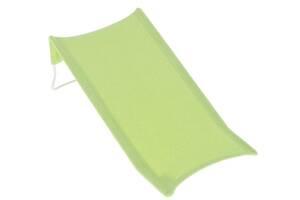 Горка для купания новорожденных махровая Tega Baby DM-015, зеленая