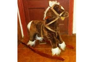 Качалка гойдалка Моя лошадка Jolly Ride коричневый/белый, б/у