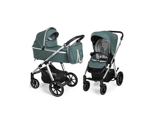 купить бу Коляска Baby Design 2 в 1 Bueno 205 Turqyoise (без вышивки) (203794) в Харькове