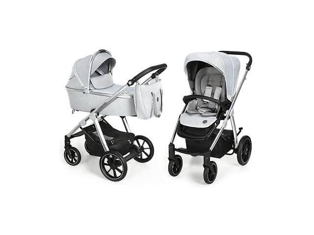 продам Коляска Baby Design Bueno 27 Light Gray (без вышивки) (203671) бу в Харькове