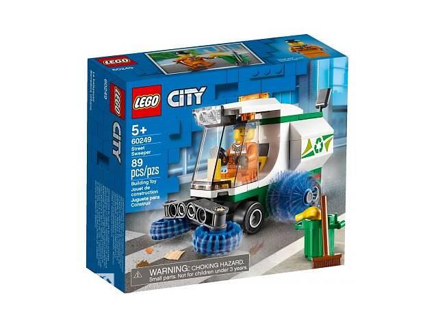 бу Конструктор LEGO City Great Vehicles Машина для очистки улиц 89 деталей (60249) в Харькове