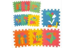 Коврик-мозаика M 0386 Веселая головоломка растения разноцветные