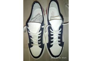 Кожаные туфли - мокасины,  оригинал Италия,  42 р