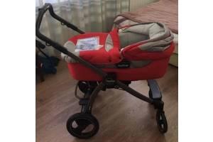 Красная коляска люлька Peg Perego Book Plus S (состояние хорошее) Позняки