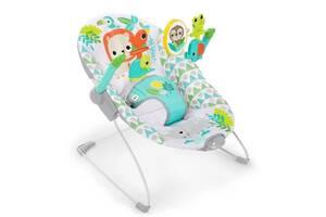 Кресло-качалка Bright Starts Spinnin Safari (12208)
