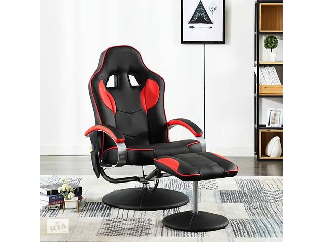 купить бу Кресло геймерское 249331 с массажем vidaXL разные цвета в Львове