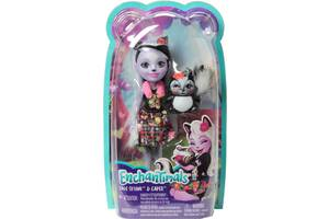 Кукла Enchantimals Скунсик Сейдж Mattel (FXM72)