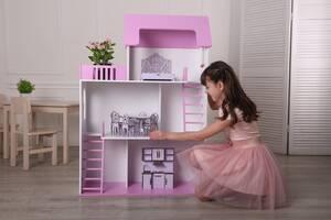 Кукольный домик 120 см 3 этажа Мечта