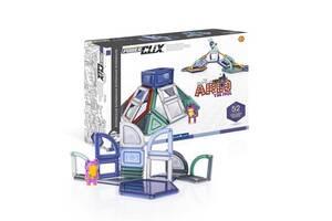 Магнитный конструктор Guidecraft PowerClix Explorer Series Архитектура, 52 детали (G9472)