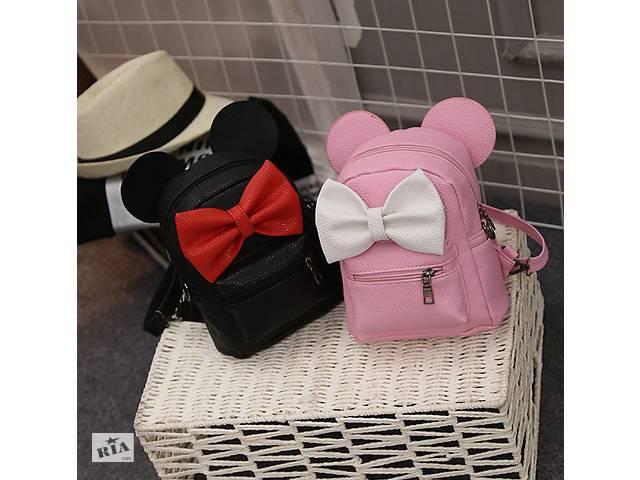 продам Маленький женский рюкзак с ушами Микки бу в Днепре (Днепропетровск)